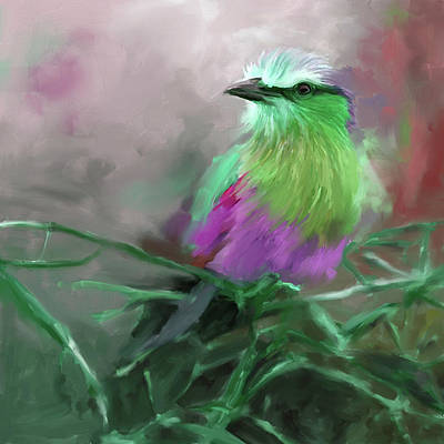 Painting - Bird 4 657 2 by Mawra Tahreem