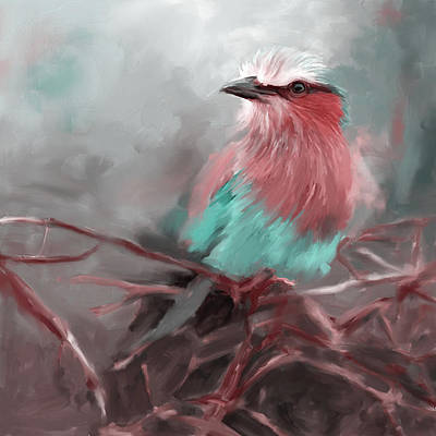 Painting - Bird 4 657 3 by Mawra Tahreem