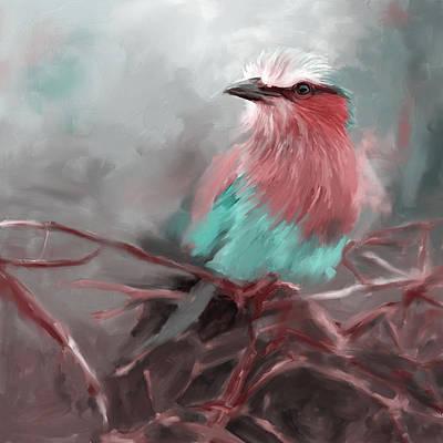 Painting - Bird 4 657 3 by Mawra Tahreem