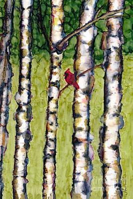 Painting - Bird And Bird by Jan Killian