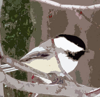 Bird On The Ground Digital Art - Bird Cutup by Debra     Vatalaro