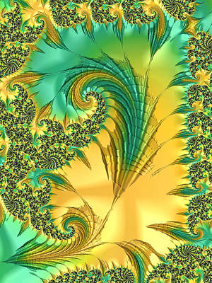Digital Art - Bird Exotica by Susan Maxwell Schmidt