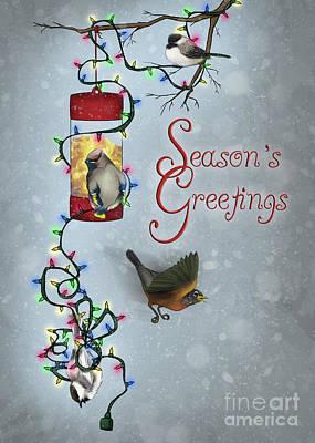 A Christmas Feast Art Print by Rachel Marquez