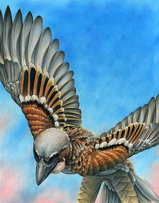 Bird Flight Print by Cara Bevan
