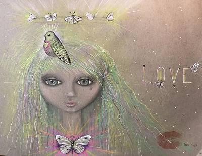 Bird From Spirit World  Art Print