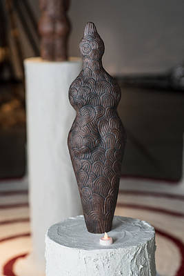 Sculpture - Bird Goddess by Kristen R Kennedy