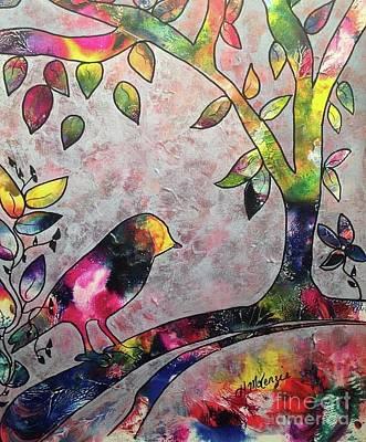 Painting - Bird by Heather McKenzie