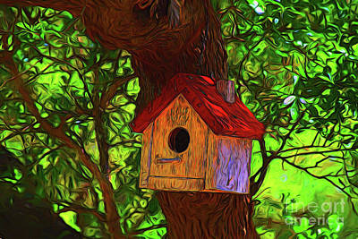 Photograph - Bird House 11218 by Ray Shrewsberry