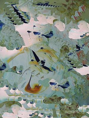 Digital Art - Birds And Clouds by Nancy Kane Chapman