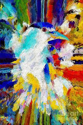 Painting - Bird In Paridise by Adam Olsen