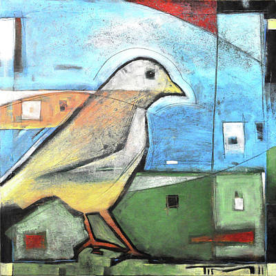 Amy Hamilton Animal Collage - Bird Is The Word by Tim Nyberg