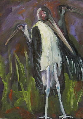 Painting - Bird Legs by Susan  Spohn