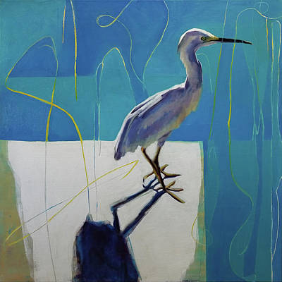Wall Art - Painting - Bird by Leslie Rock