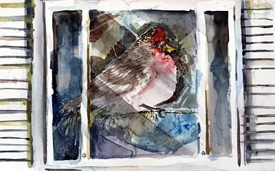 Bird Art Print by Mindy Newman