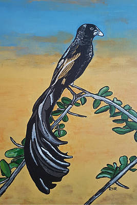 Painting - Bird Of Beauty, Ngiculela by Rachel Natalie Rawlins