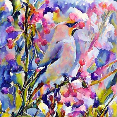 Digital Art - Bird Of Paradise 2 by Yury Malkov
