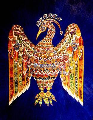 Mixed Media - Bird Of Paradise by Bob Craig