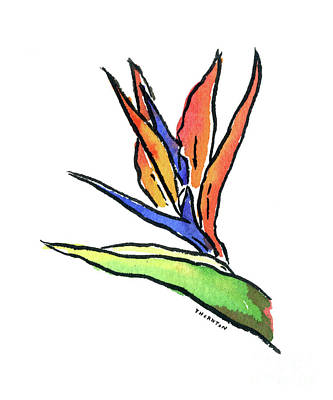 Painting - Bird Of Paradise by Diane Thornton