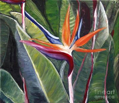 Painting - Bird Of Paradise by Isabel Honkonen