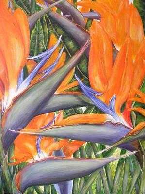 Bird Of Paradise Original by Jan Dobbs
