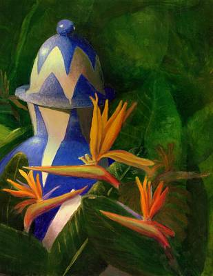 Painting - Bird Of Paradise by Karyn Robinson