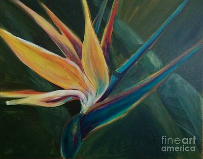 Painting - Bird Of Paradise by Lisa DuBois
