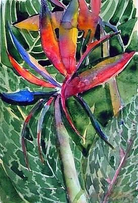 Bird Of Paradise Art Print by Mindy Newman