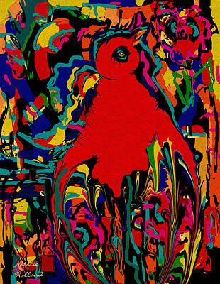 Outsider Art Mixed Media - Bird Of Paradise by Natalie Holland