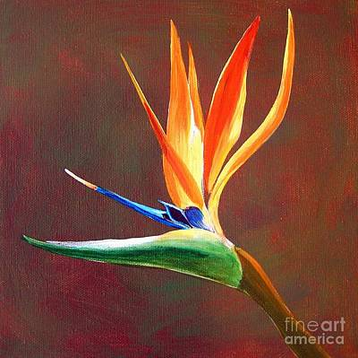 Painting - Bird Of Paradise by Patricia Piffath