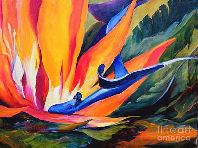 Painting - Bird Of Paradise by Virginia Potter