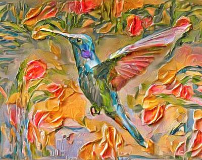 Digital Art - Bird Of Paradise by Yury Malkov