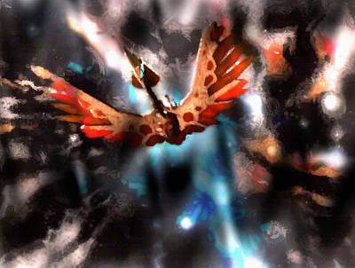 Klingon Wall Art - Painting - Bird Of Prey Evolution by Mario Carini