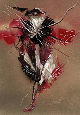 Painting - Bird Reflect Defect by Jason Girard