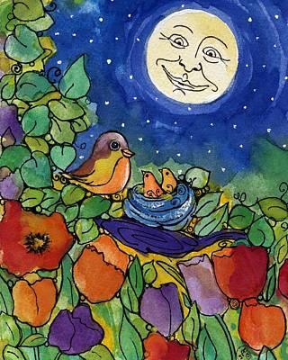 Bird Retreat Art Print by Sylvia Pimental