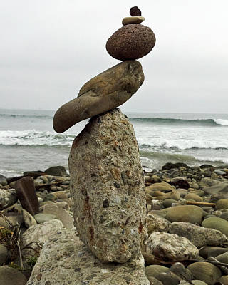 Photograph - Bird Rock Art by Joe  Palermo
