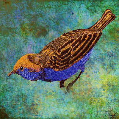 Painting - Bird by Saundra Myles