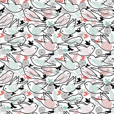 Elizabeth Taylor Digital Art - Bird Solid by Elizabeth Taylor