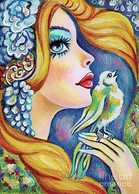 Painting - Bird Song by Eva Campbell