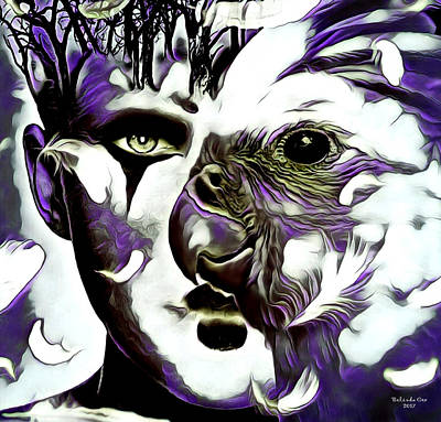 Digital Art - Bird Spirit by Artful Oasis