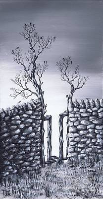 Painting - Bird Tree by Kenneth Clarke