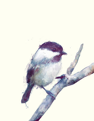 Bird Painting - Bird // Trust by Amy Hamilton