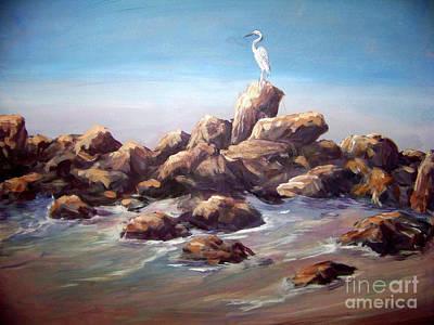 Painting - Bird Watching by Deborah Smith