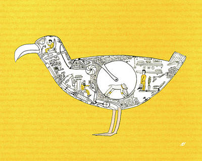 Bird4 Original by Nik Bloomberg