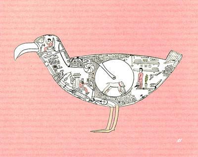 Bird5 Original by Nik Bloomberg
