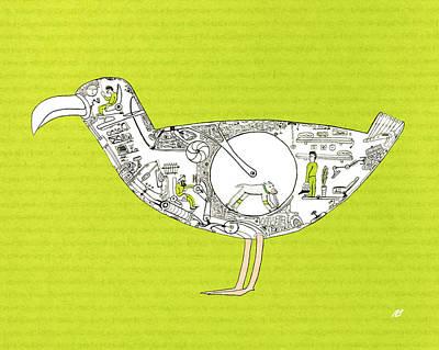 Bird7 Original by Nik Bloomberg