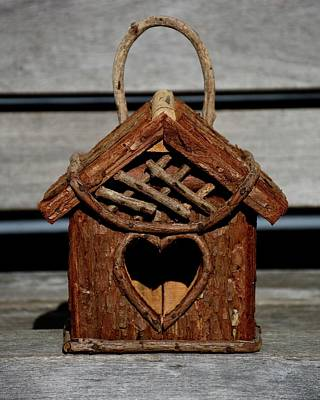 Photograph - Birdhouse 1 by Angie Tirado