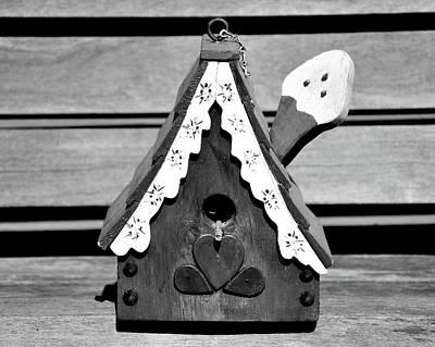 Photograph - Birdhouse 4 by Angie Tirado