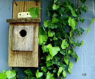 Photograph - Birdhouse  by Glenda Barrett