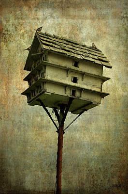 Photograph - Birdhouse I by Dave Gordon