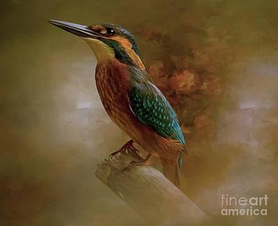 Painting - Birdie by Tara Richardson